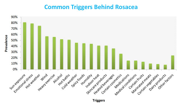 A rough analysis of the causes behind rosacea.