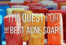 The quest for the best acne soaps.