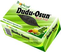Best african black soap for acne. Dudu-osun by Tropical Naturals.