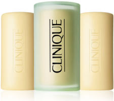 Four great acne soaps from clinique.