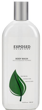 Exposed Body Wash for Acne