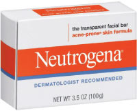 neutrogena transparent facial bar - best acne soap from neutrogena.