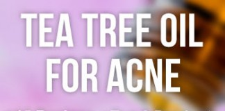 All about using tea tree oil for acne.