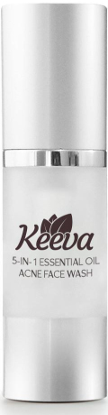 Keeva Organics Clarifying Acne Face Wash