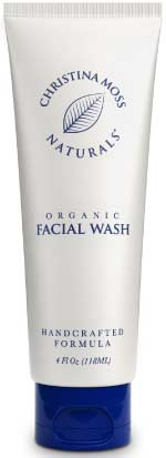 Organic Facial Cleanser for Acne Prone Skin by Christina Moss Naturals