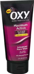 Oxy Maximum Action Advanced Acne Face Wash Review