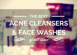 Best acne cleansers and face washes of all time.