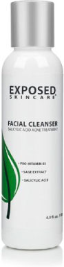 exposed skin care facial cleanser for acne treatment