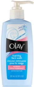 olay foaming acne wash for normal skin