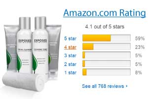exposed acne treatment over the counter review amazon