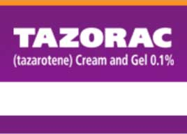 tazorac prescription acne medication