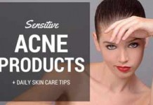 best acne products for sensitive skin