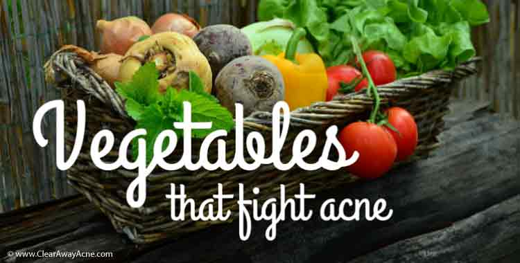 Best vegetables for acne and skin care.