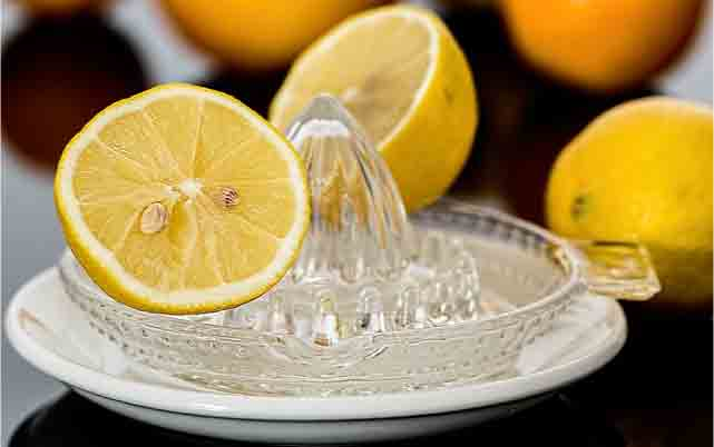 lemon for acne skin care