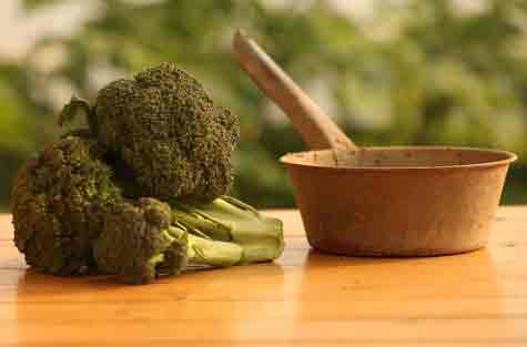 vegetables for acne broccoli
