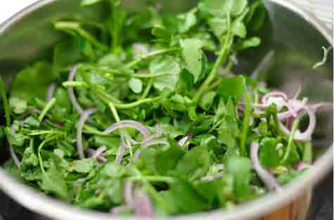 watercress vegetable for acne and skin care