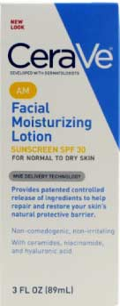CeraVe Moisturizing Facial Lotion for Acne