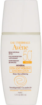 Eau thermale Avene lotion sunscreen for acne prones skin