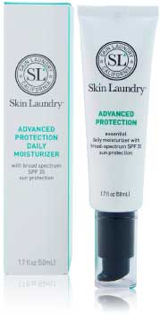 Skin Laundry Moisturizer with spf for acne prone skin