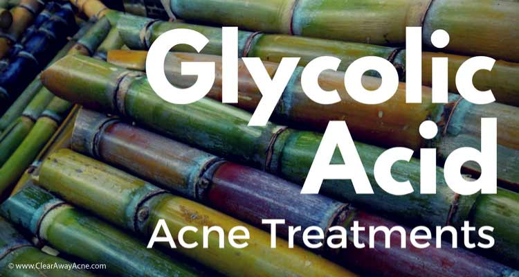 Best A.H.A. Glycolic Acid Acne Treatment