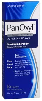Panoxyl Body Acne Foaming Product