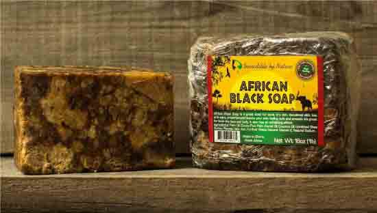 african black soap for treating back acne