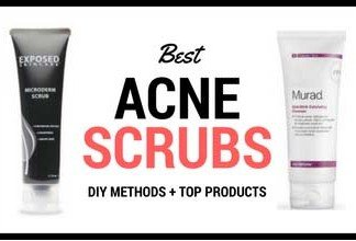 Best face scrubs for acne prone skin