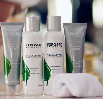 Exposed Drugstore Acne Treatment Kit