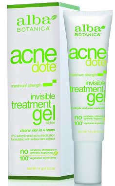 Alba Botanica Acnedote, Invisible Treatment Gel