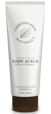 Organic Body Scrub for Acne by Christina Moss Naturals