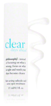 Philosophy Clear Days Ahead Fast Acting Salicylic Acid Acne Spot Treatment