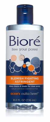 Biore Blemish Treating Astringent For Acne Prone Skin