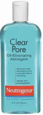 NeutrogenaClear Pore Oil Eliminating Acne Skin Astringent