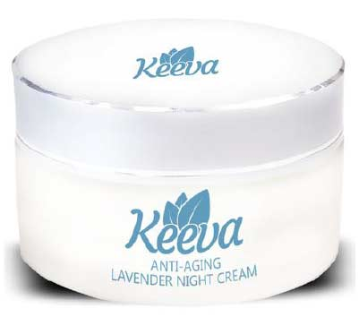 Keeva Anti-Ageing Lavendar Moisturizing Night Cream