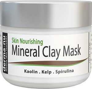 Derma Nu Skin Nourishing Mineral Clay Mask for Blackheads