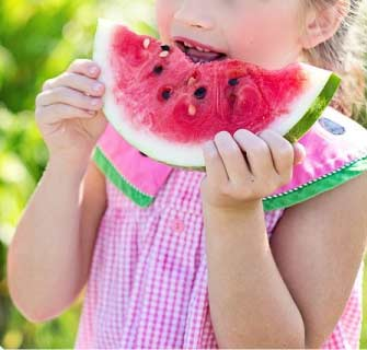 Watermelon - A good food source of zinc