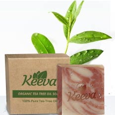 Keeva Organics Tea Tree Soap Bar