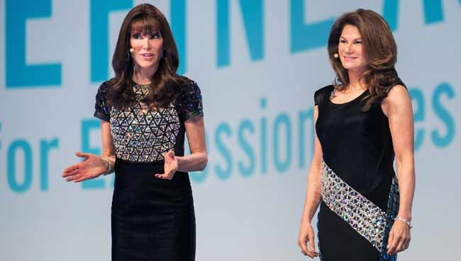 Founders of Proactiv - Dr. Katie Rodan, and Dr. Kathy Fields