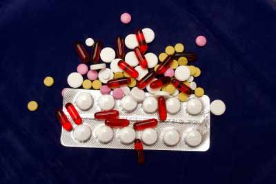 Antibiotics can cause acne due to candida