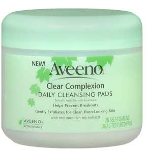 Aveeno Clear Complexion Daily Blackhead Cleansing Pads