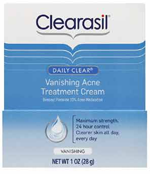 Clearasil Daily Clear Vanishing Acne Treatment Cream