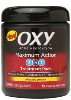 OXY Maximum Action Rapid Treatment 3 In 1 Treatment Pads
