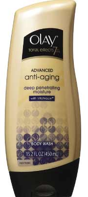 Olay Total Effects 7 Exfoliate and Replenish Advanced Anti-Aging Body Wash