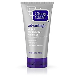 Clear and Clear Advantage 3-in-1 Exfoliating Cleanser