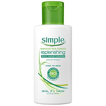 Simple - best acne product for sensitive skin