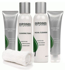 Exposed Skin Care Expanded Acne Treatment Kit
