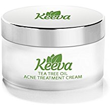 Keeva Organics Tea Tree Oil Acne Cream