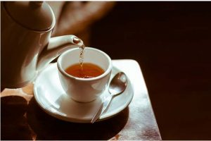 Drinking green tea is the best form to use against acne.