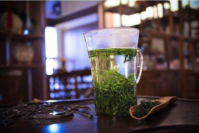 Using green tea against acne breakouts with its anti-oxidant properties.