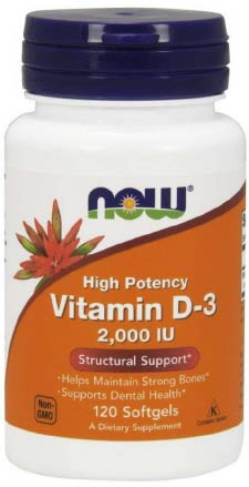 Now Vitamin D3 Supplement For Acne Treatment